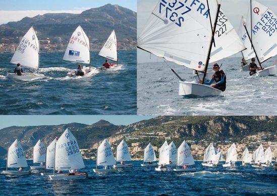 Naviguer A L Annee Competition Optimist Asptt Marseille Voile